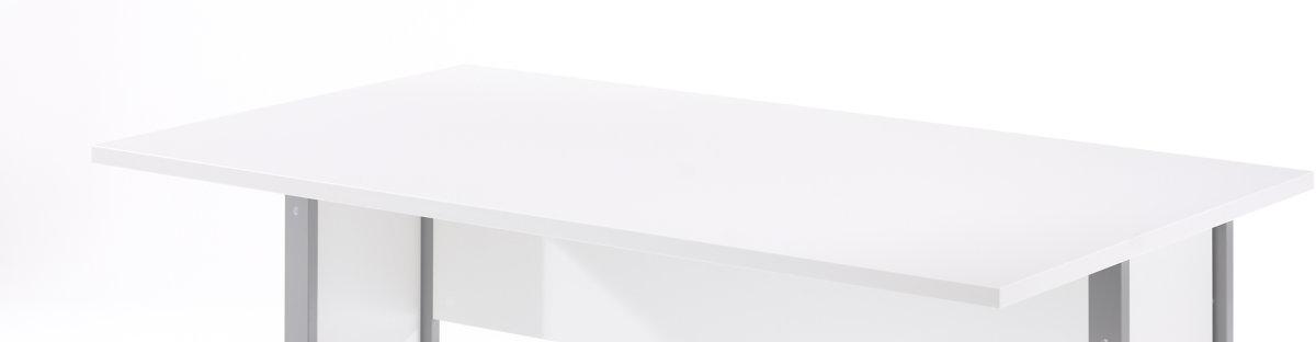 BudgetLine skrivebord, 150 cm, hvid