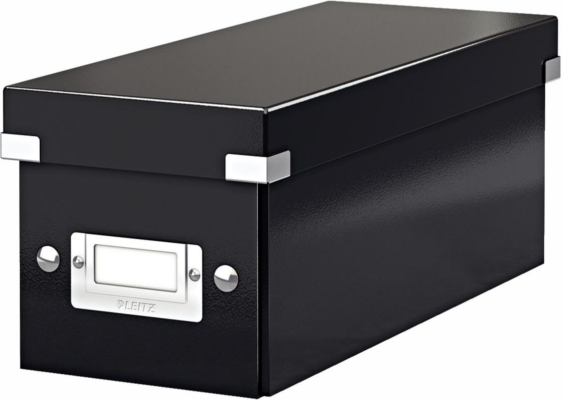 Leitz Click & Store CD-boks, sort