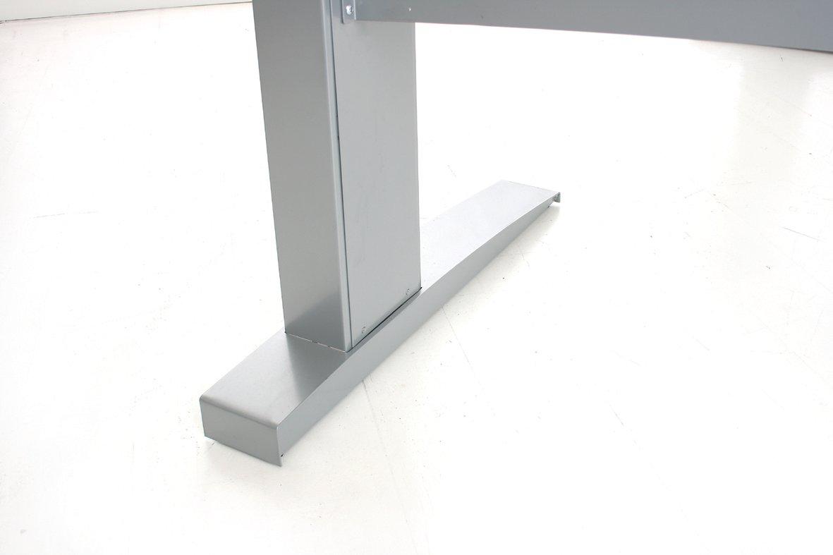 Easy stand 180 hæve/sænkebord venstre, ahorn/alu