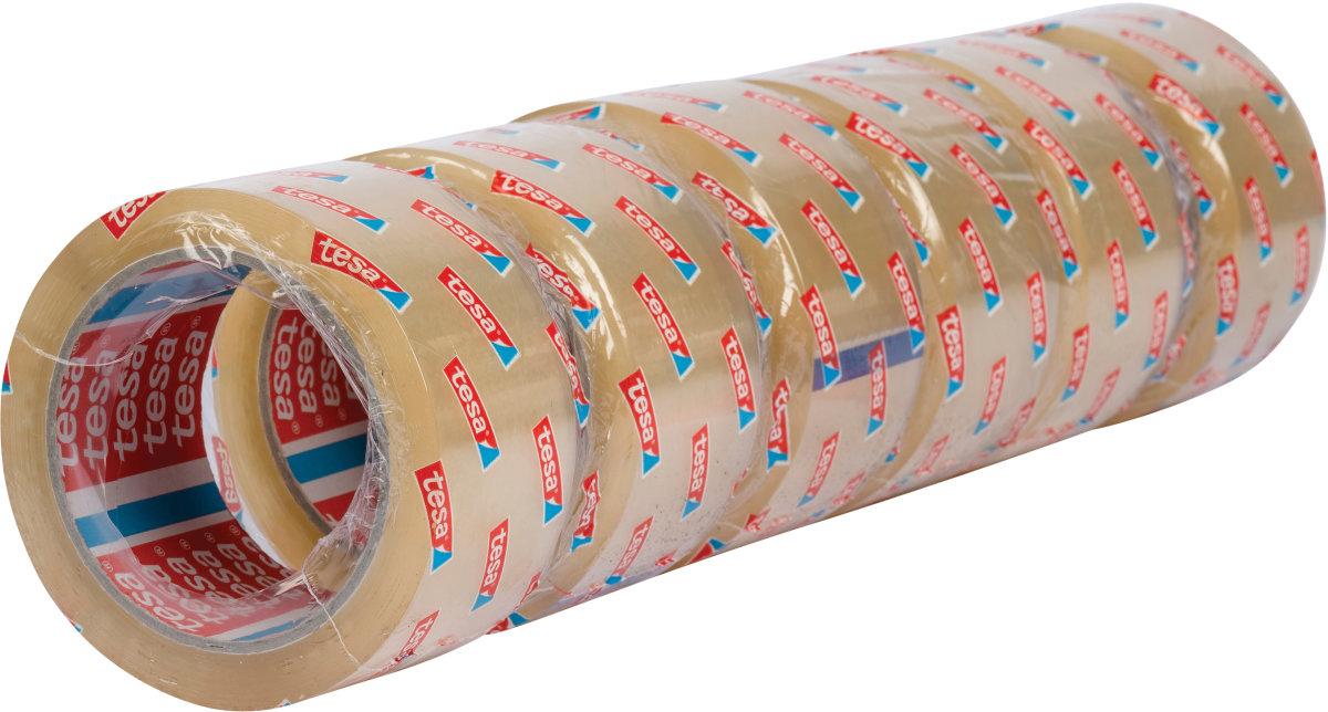 tesa Pakketape, 50 mm, klar