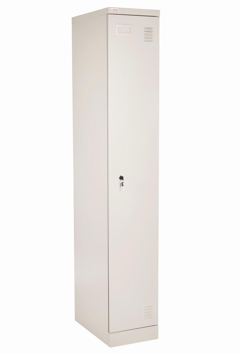 Lomax garderobeskab 1 dør, Grå, H180xB30xD50