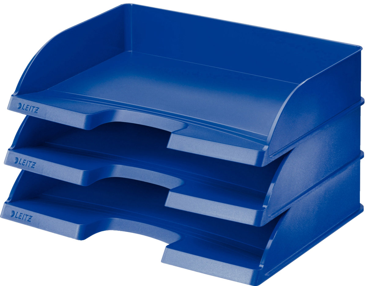 Leitz Plus Standard Landscape brevbakke, blå