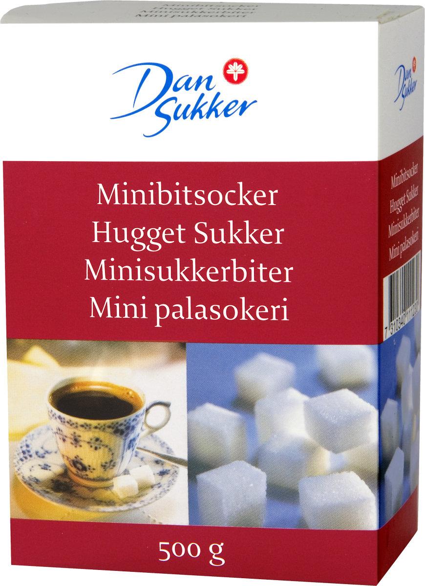 DanSukker, hugget sukker, 500 g
