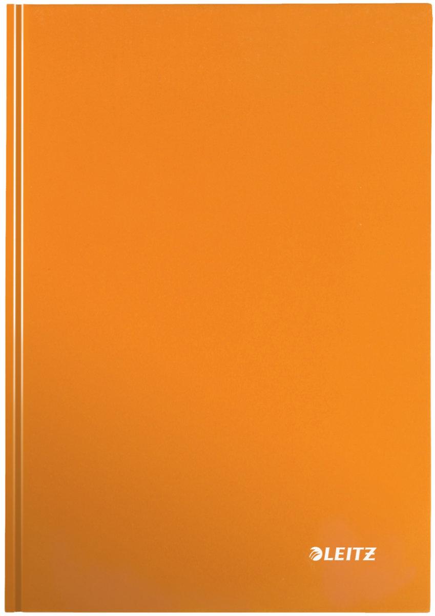 Leitz WOW notesbog A4, kvadreret, orange