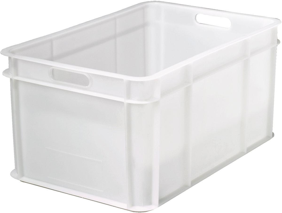 Lagerkasse 54 l, Hvid, (LxBxH) 600x400x290 mm