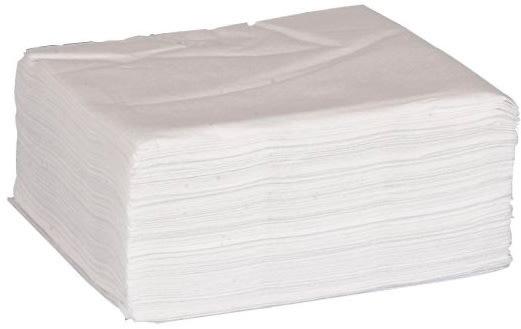 Papirserviet 33 x 33cm, 1-lag, 100stk, hvide
