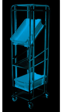 Fleksibel kassevogn til 600x400 mm kasser