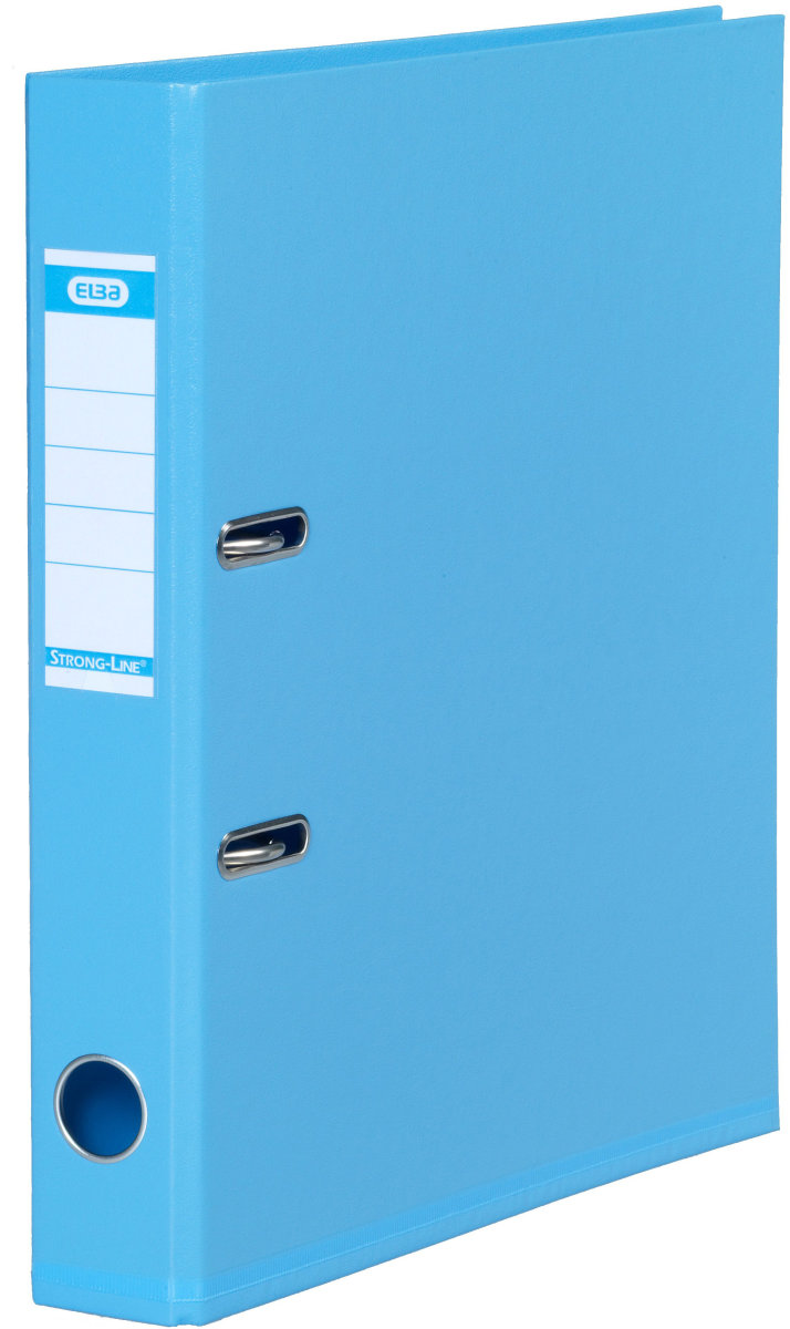 Elba Strong-Line brevordner A4, 50mm, lyseblå
