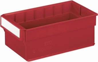 Systemkasse 5, (DxBxH) 400x235x145, Rød