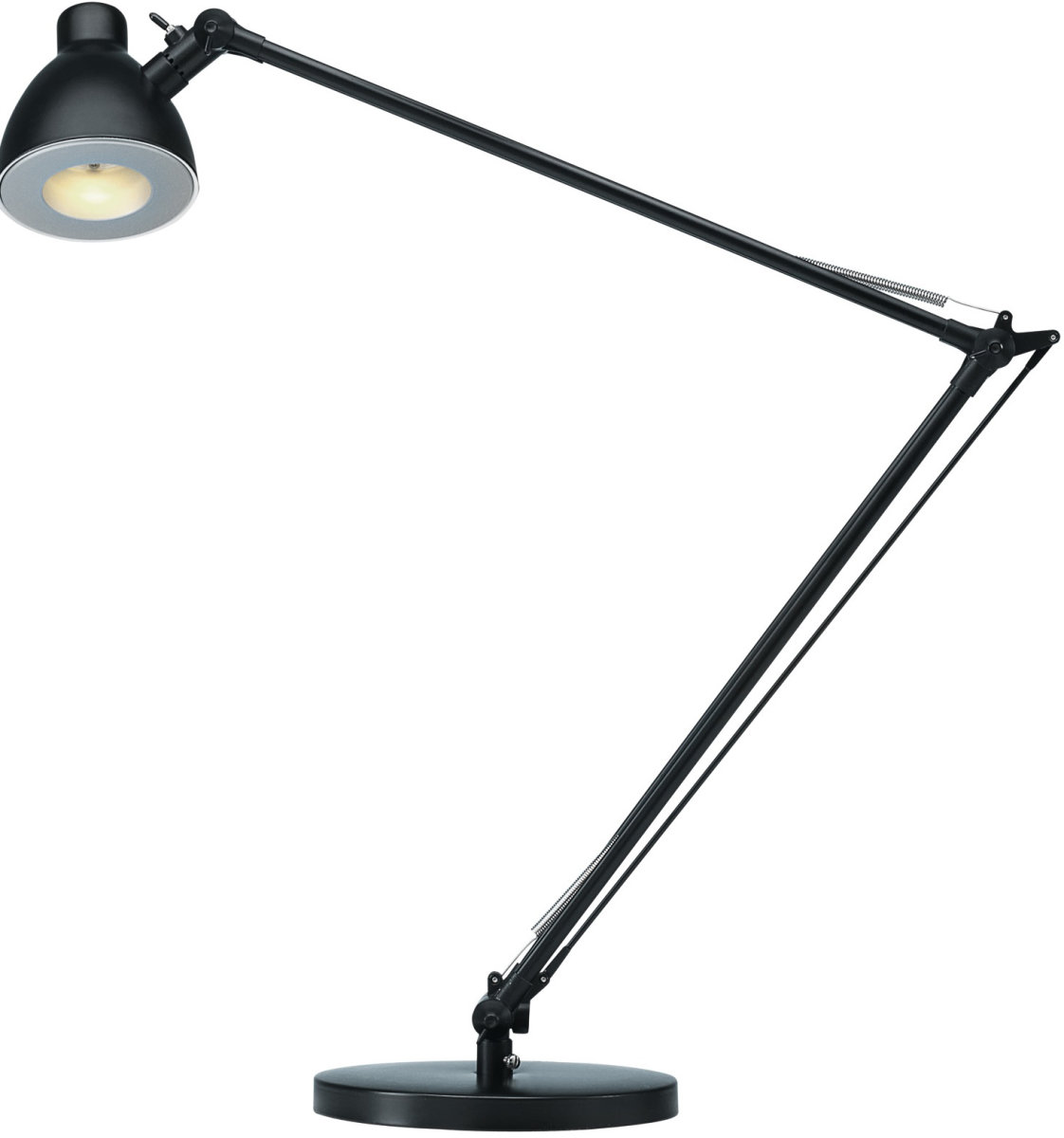Valencia LED bordlampe sort