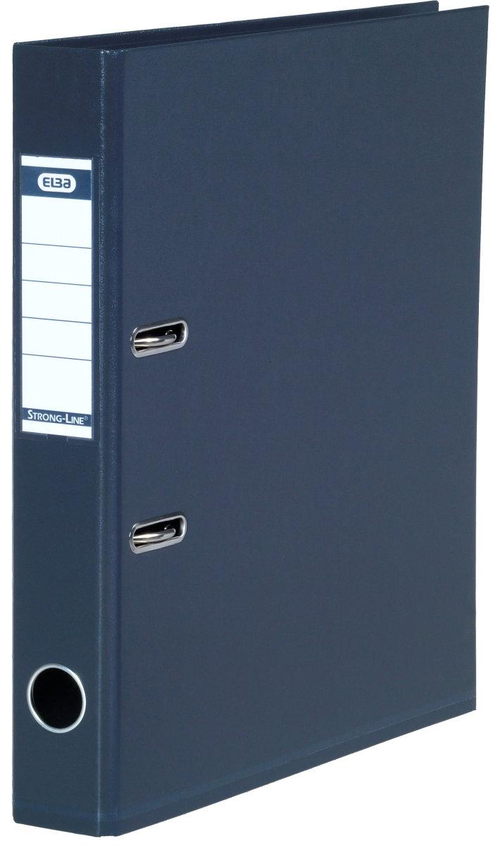 Elba Strong-Line brevordner A4, 50mm, antracit