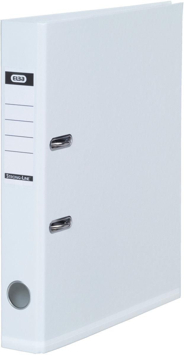 Elba Strong-Line brevordner A4, 50mm, hvid