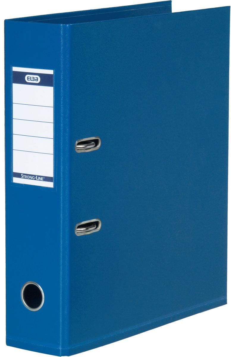 Elba Strong-Line brevordner A4, 80mm, blå