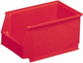 Systembox 4, (DxBxH) 230x150x130, Rød