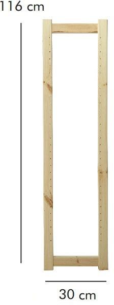 ABC Reolstige HxD: 116x30 cm, natur