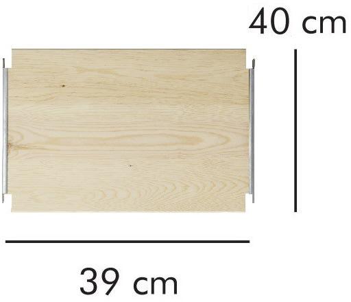 ABC hylde LxD: 39x40 cm, natur