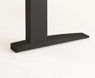 Easy stand 200 hæve/sænkebord venstre, bøg/sort