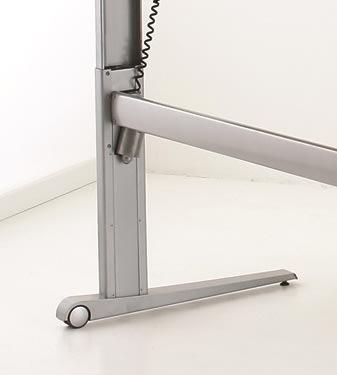STEADY hæve/sænkebord 180 cm højrevendt, bøg