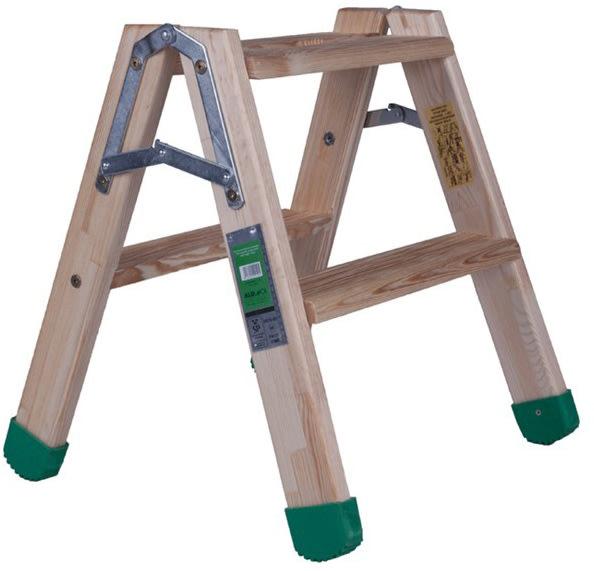 Arbejdsplatform i træ - Højde 0,5 m