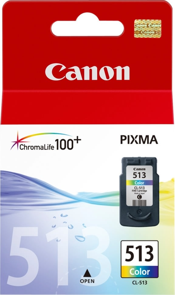 Canon CL-513 blækpatron, farve, 349s