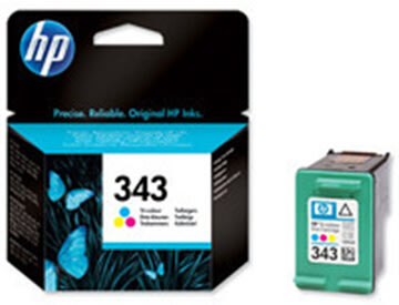 HP nr.343/C8766EE blækpatron, 3-farvet, 330s