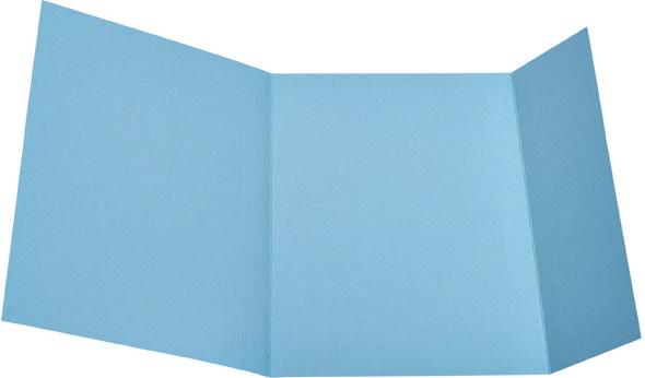 DKF Kartonmappe nr. 103, A4, blå