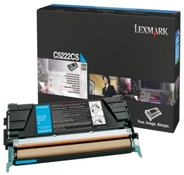 Lexmark C746A1CG tonerpatron Blå 7000 sider