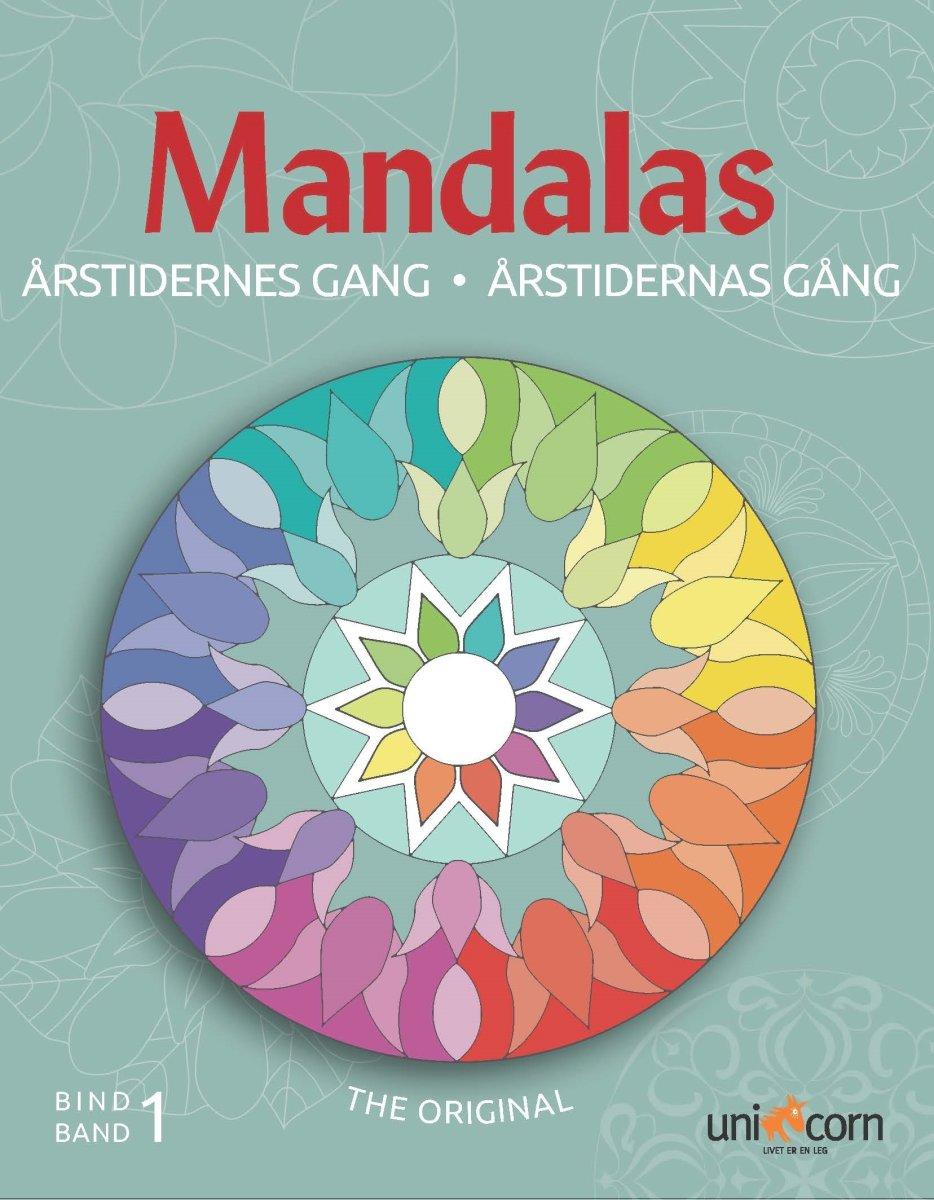 Mandalas malebog Årstidernes gang, bind I