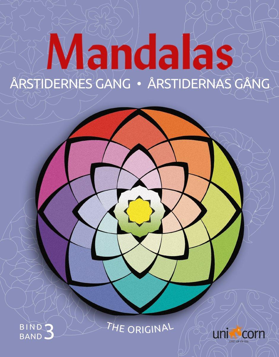 Mandalas malebog Årstidernes gang, bind III