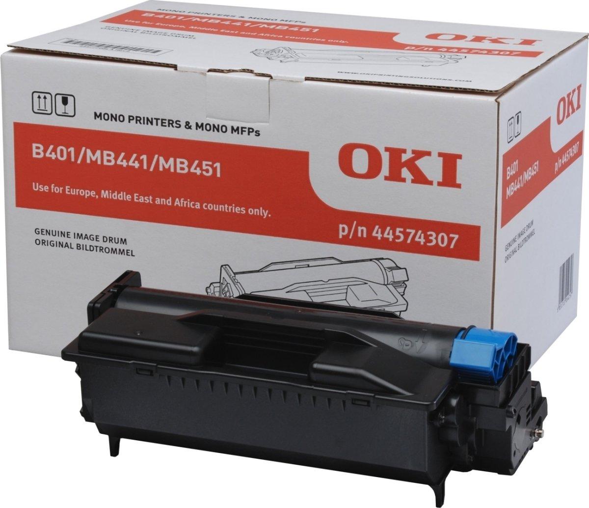 OKI 44574307 Lasertromle, Sort, 25000 sider