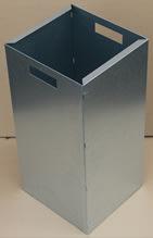 Indsats til affaldsspand Square 50 liter