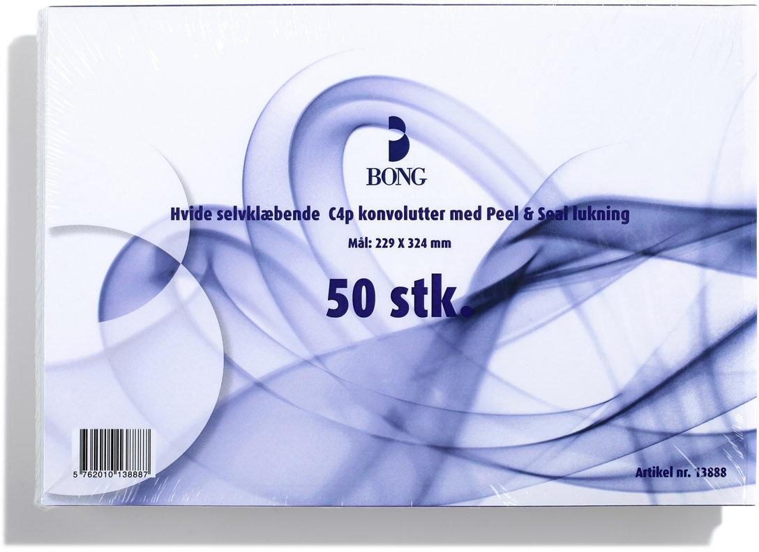 Bong Peel & Seal Kuvert A4 C4p, u/rude