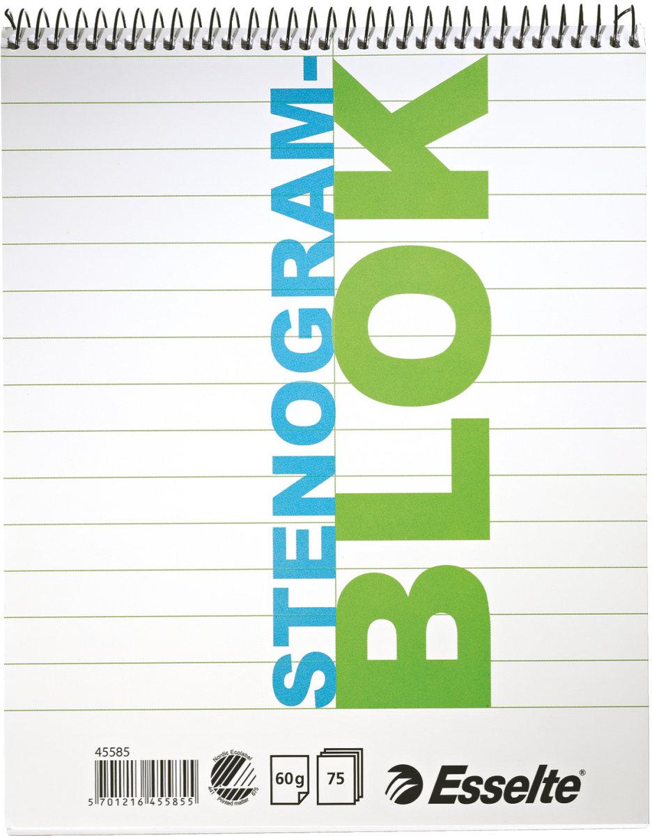 Esselte stenogramblok  75 blade