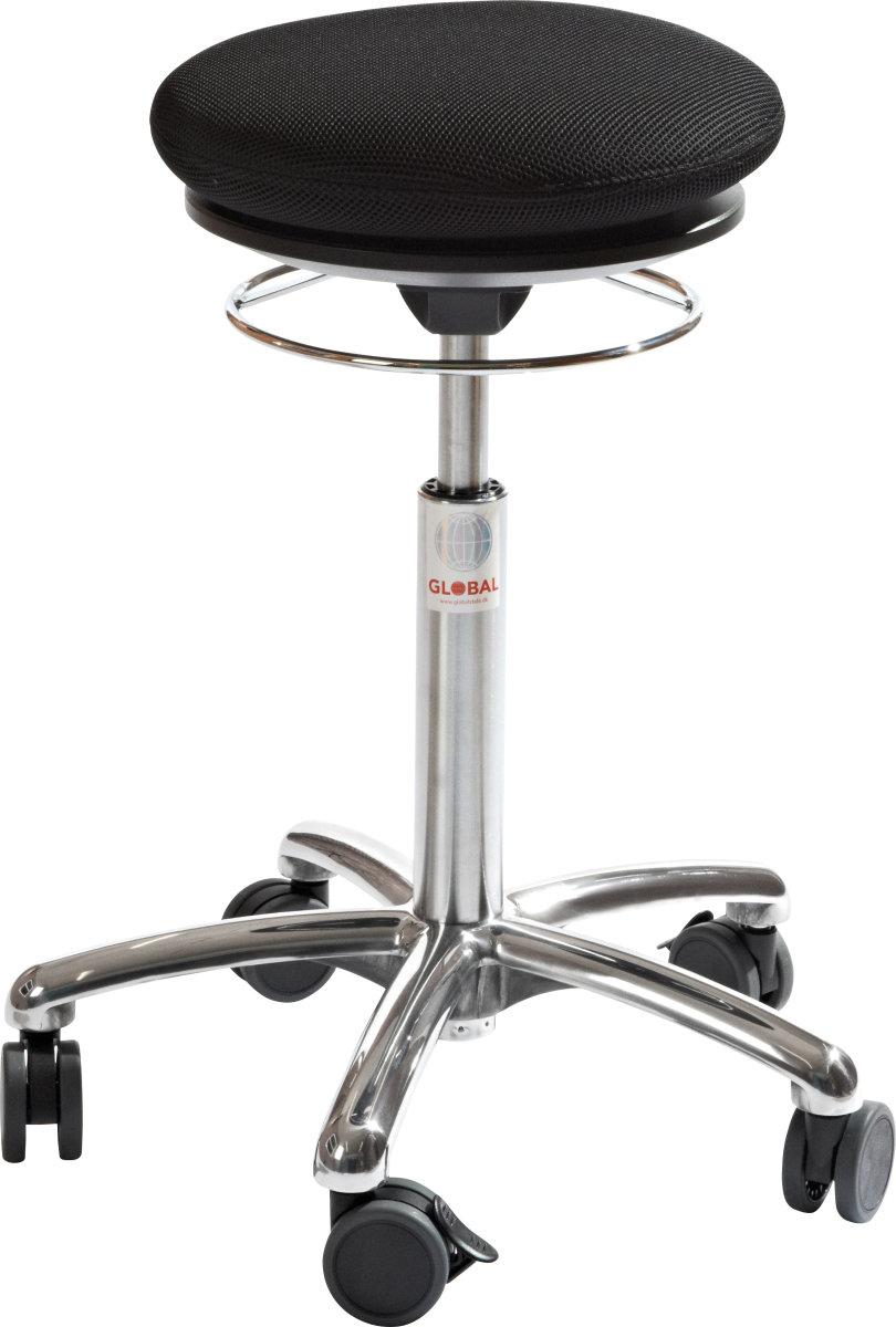 CL Pilates Air Seat, sort, stof, 52-71 cm
