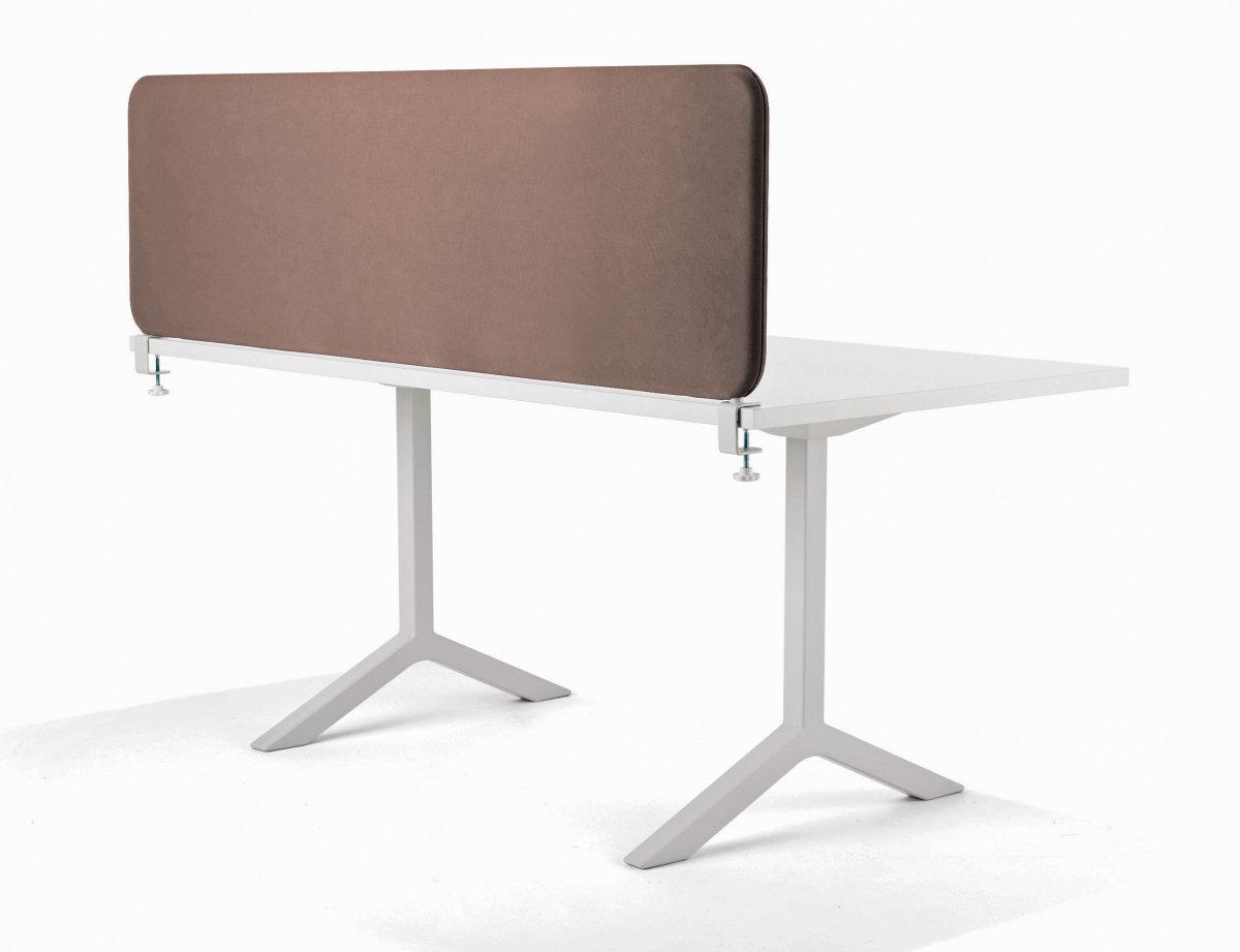Softline bordskærmvæg beige B1800xH450 mm
