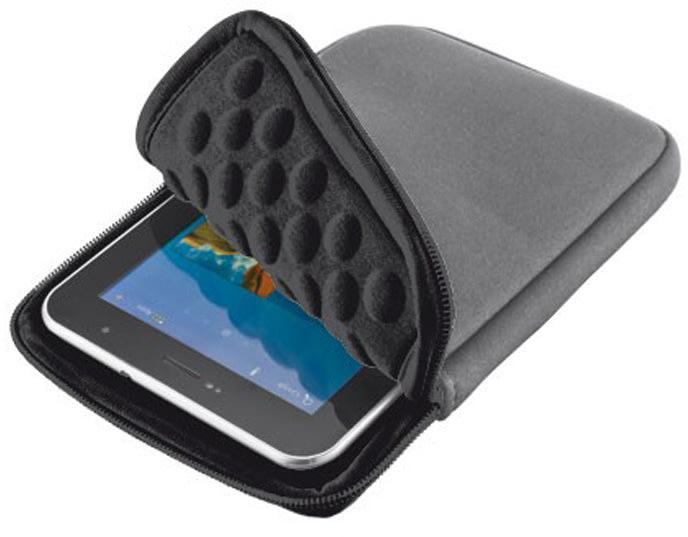 "Trust Tablet Sleeve 7"" Anti-shock Bubble Grå"