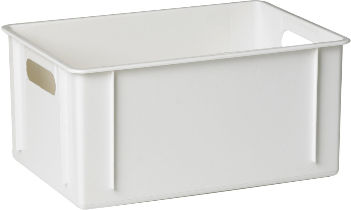 Klodskasse, 11 l, 340x240x160, Hvid