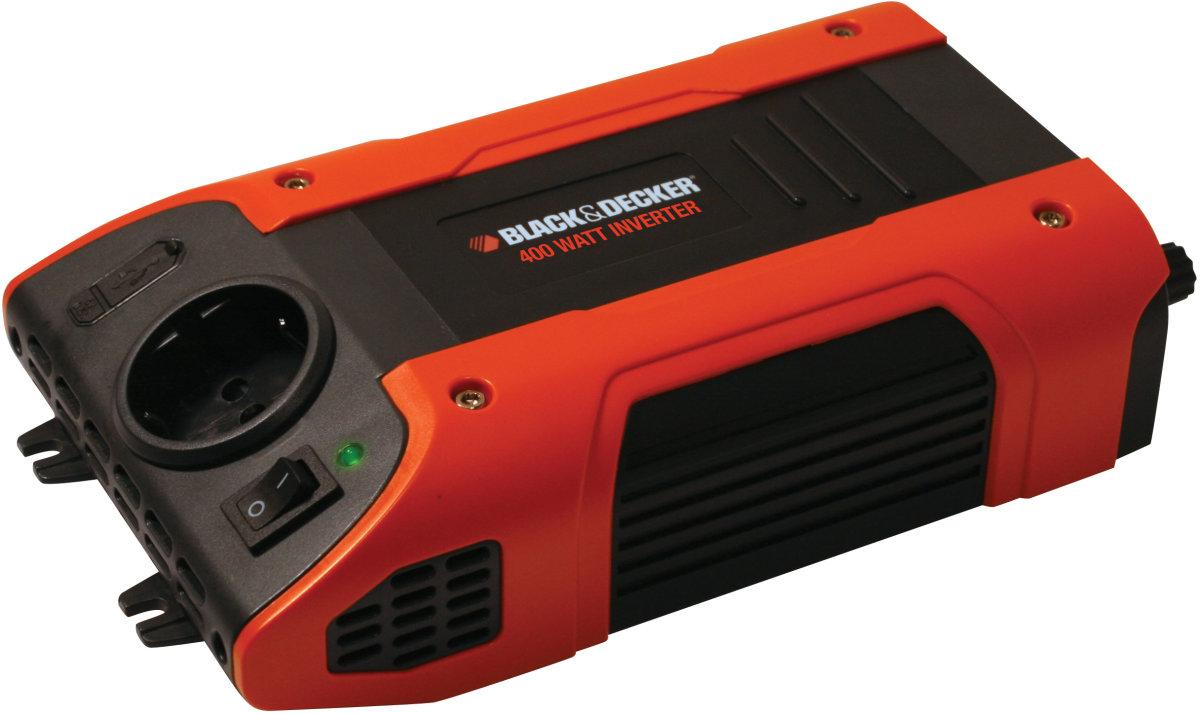 Black & Decker 400W Inverter, 230 V og USB udgang