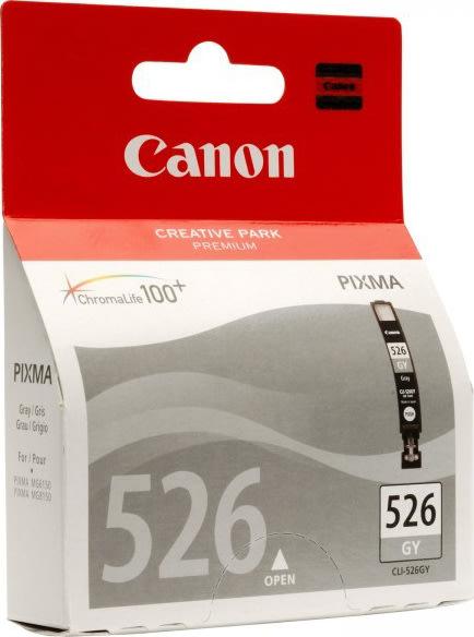 Canon CLI-526GY blækpatron, grå, 9ml