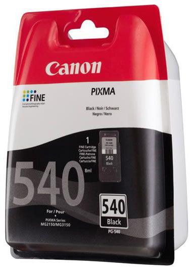 Canon PG-540 blækpatron, blister, sort, 180s