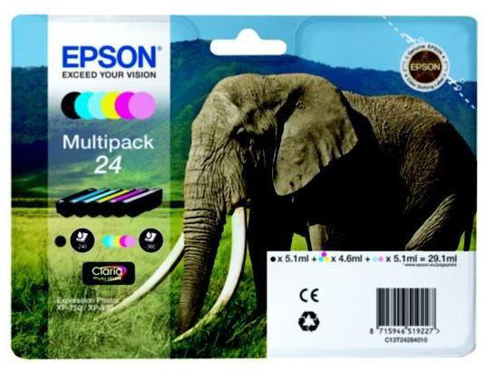 Epson C13T24284010 blækpatron, sampak