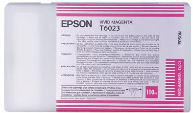 Epson C13T602300 blækpatron, rød, 110ml