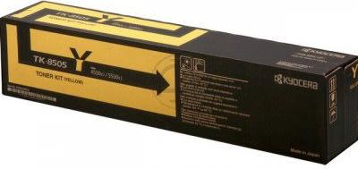 Kyocera TK-8505Y  lasertoner, gul, 20000s