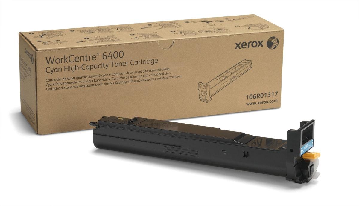 Xerox 106R01317 lasertoner, blå, 14000s