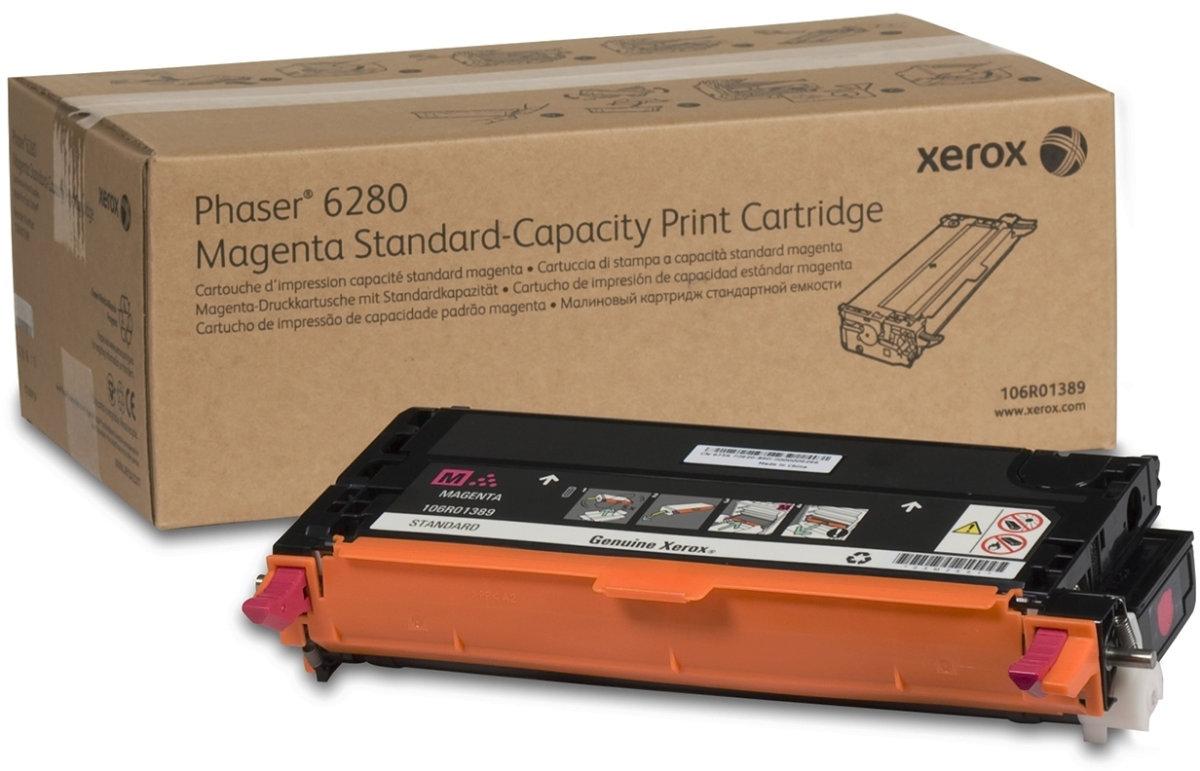 Xerox 106R01389 lasertoner, rød, 2200s