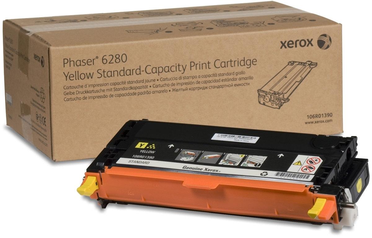 Xerox 106R01390 lasertoner, gul, 2200s