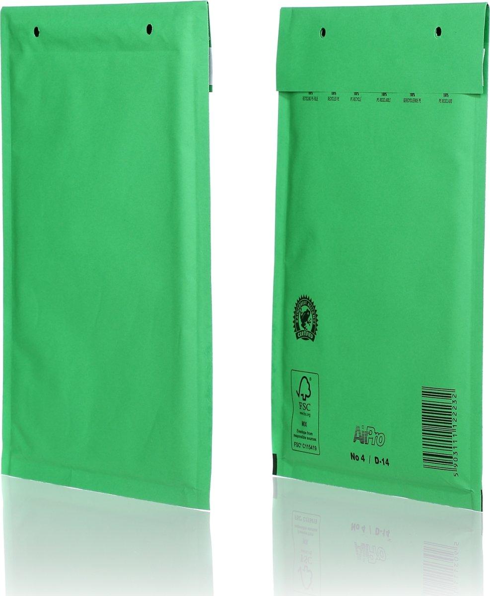 Airpro boblekuvert 200x275mm, grøn