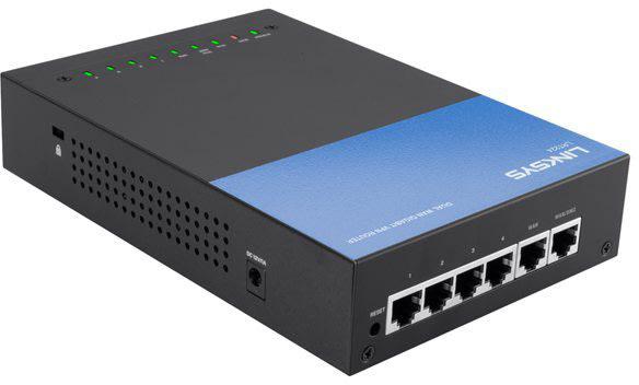 Linksys LRT224-EU Wired Dual WAN VPN Router
