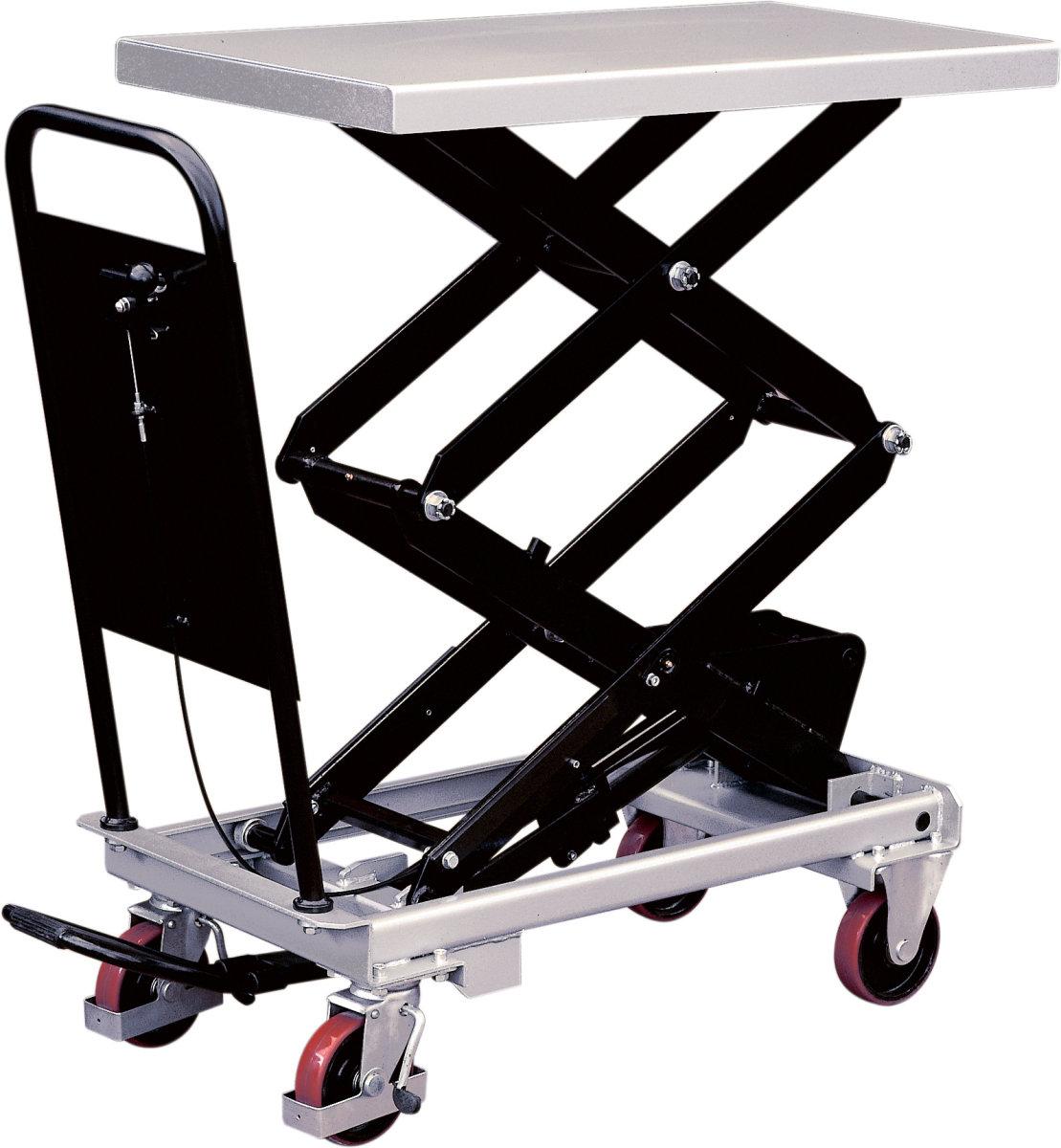 Silverstone mobilt løftebord, 800 kg, 470-1410 mm