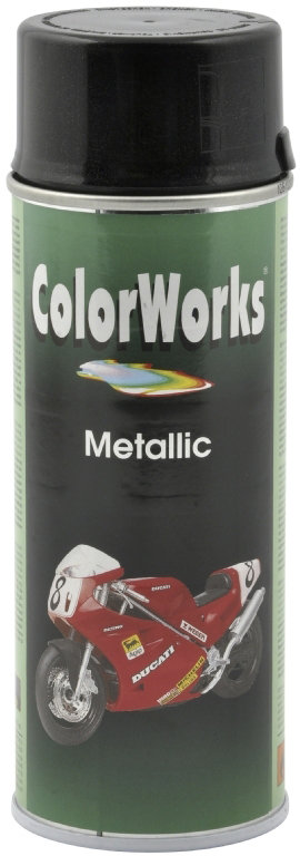 ColorWorks hobbyspray, metallic sort